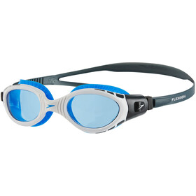 speedo Futura Biofuse Flexiseal Lunettes de protection, oxid grey/white/blue